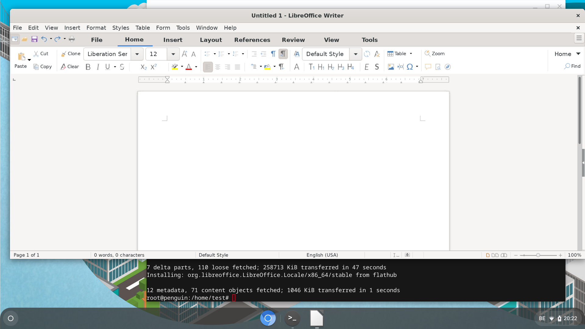 LibreOffice en version FlatPak