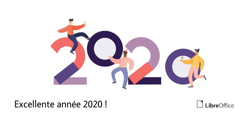 Excellente année 2020 !