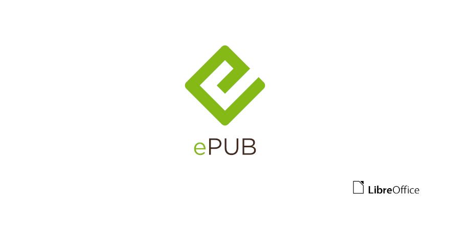 Logo format epub